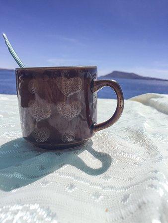 Taquile Island, Peru: Ubiquitous coca tea.
