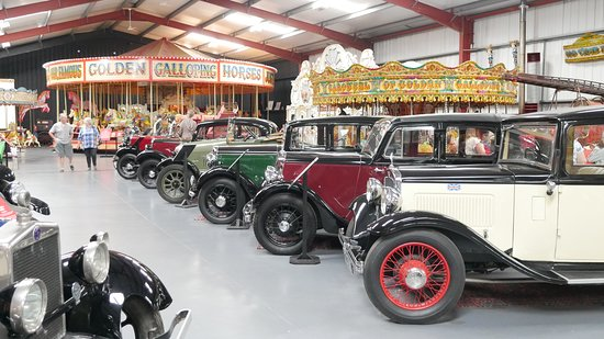 The Scarborough Fair Collection : A fine selection of fairground rides and vintage vehicles