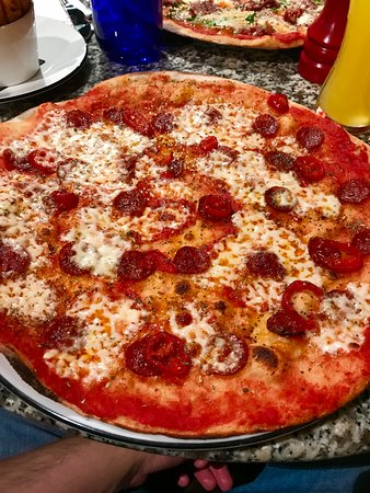 American Hot Romana Picture Of Pizza Express Barnstaple