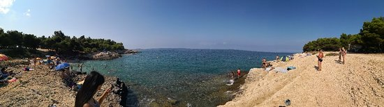 Njive Beach: Panorama photo 📸 of the beach 🏖