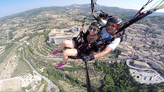 Parapendio in Due