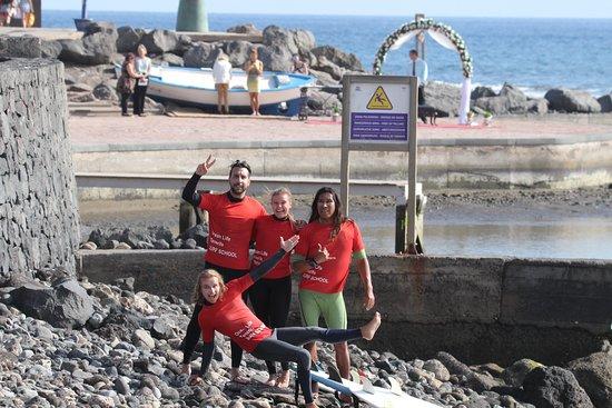 Ocean Life Tenerife Surf School