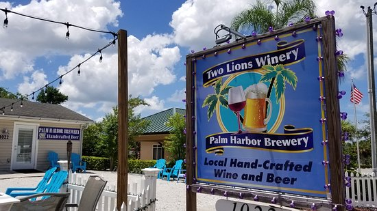 Two Lions Winery & Palm Harbor Brewery