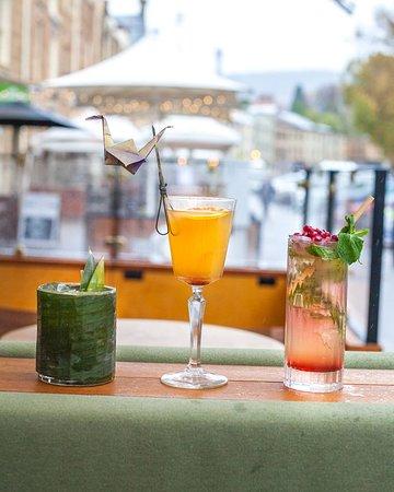 cocktails with local spirits- The Den Salamanca