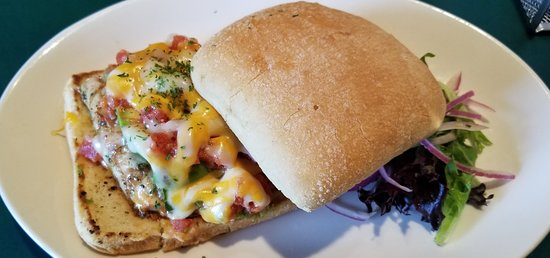 Best Western Saranac Lake: Tex Mex Chicken Sandwich