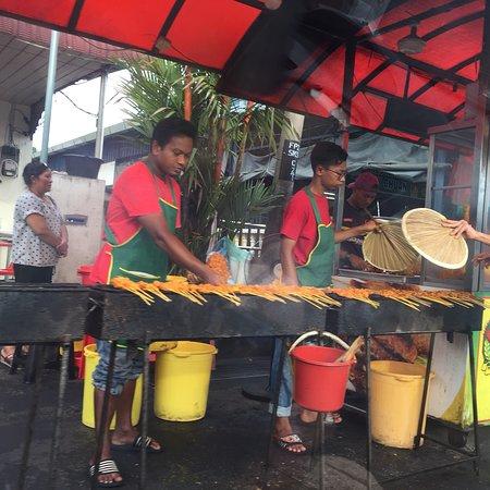Bedong, Malaysia: At Satay Semeling