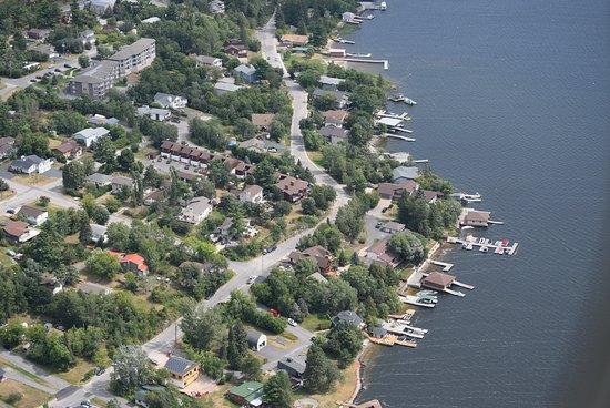 Kenora District, Canada: Keewatin waterfront
