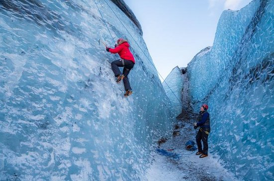 Glacier Hiking and Ice Climbing...
