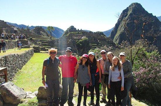 Machu Picchu recorre todo el día