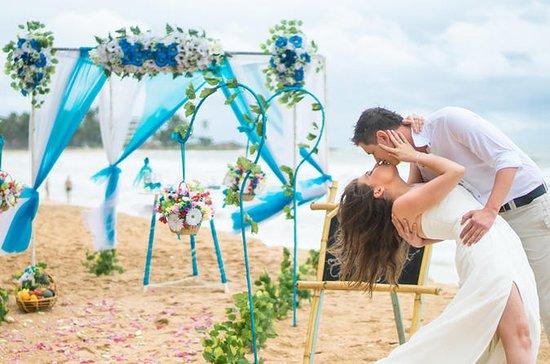 Western Style Beach Wedding Ceremony...