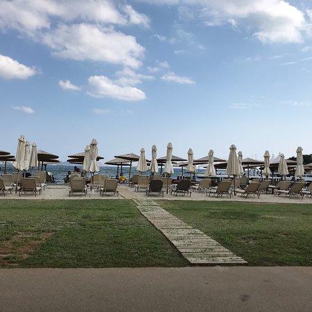 Lagonisi, Greece: Restaurant view