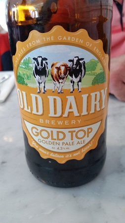 Ash, UK: nice local beer serbed at Twig & Spoon