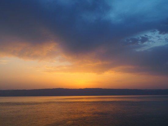 Mujib Chalets : Sunset