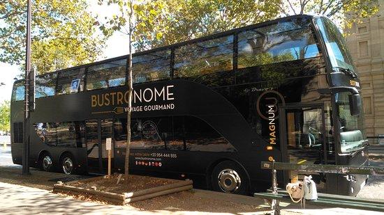Paris City Tour and Lunch by Luxury Bus: le bus