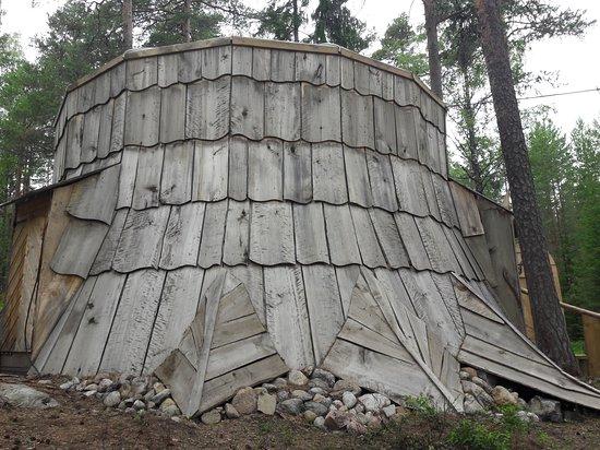 Sastamala, Finland: Peikkovuoren  päämaja  on isossa kannossa.