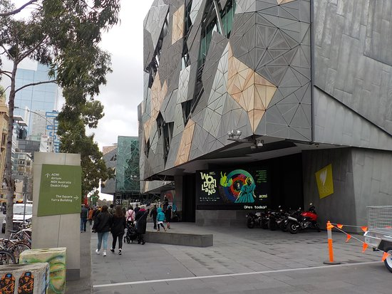 Australian Centre for the Moving Image: Building exterior