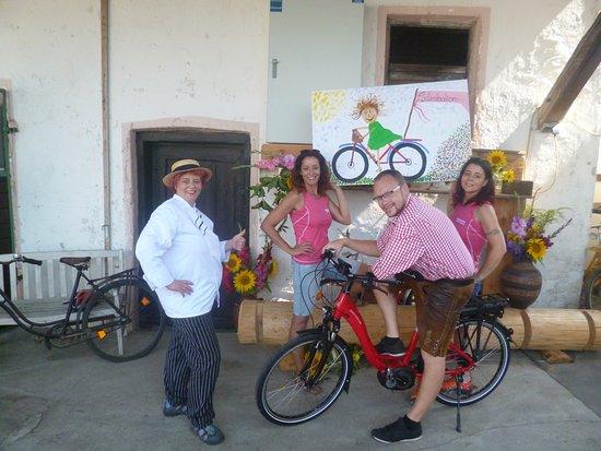 Burgau, Tyskland: E Bike Ladestadion