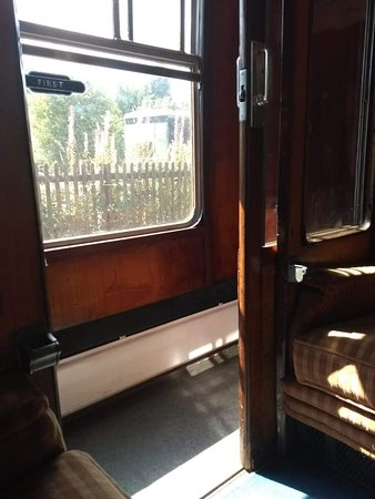 Froghall, UK: On the train
