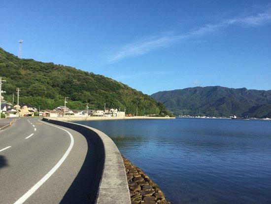 Movie Village of 24-no-Hitomi: 内海湾の先っぽにあります