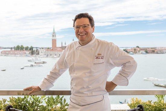Restaurant Terrazza Danieli Executive Chef Alberto Fol