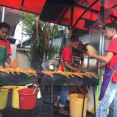Bedong, Malaysia: Satay Satay satay !!!