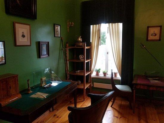 Osipovy-Wolf House Museum in Trigorskoe照片