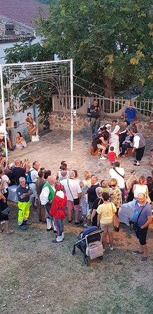 Colobraro, อิตาลี: La scena finale, al Castello