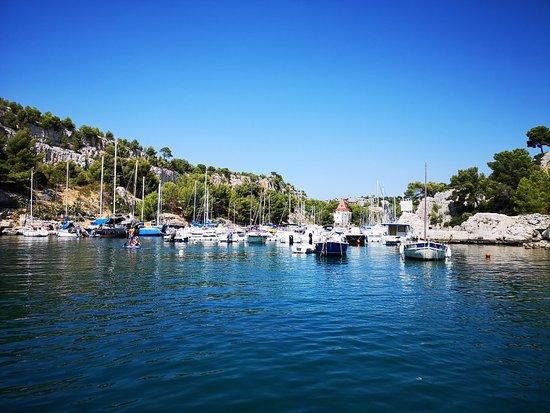 Saint-Cyr-sur-Mer, Frankrike: Balade dans les calanques !