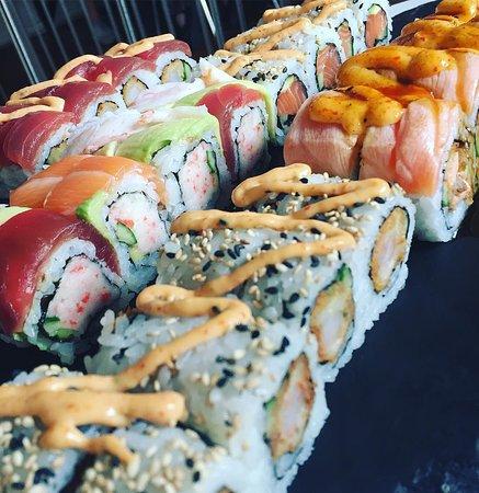 East Jutland, Dinamarca: Sushi