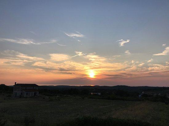 Rovinjsko Selo, Хорватия: Tramonto1