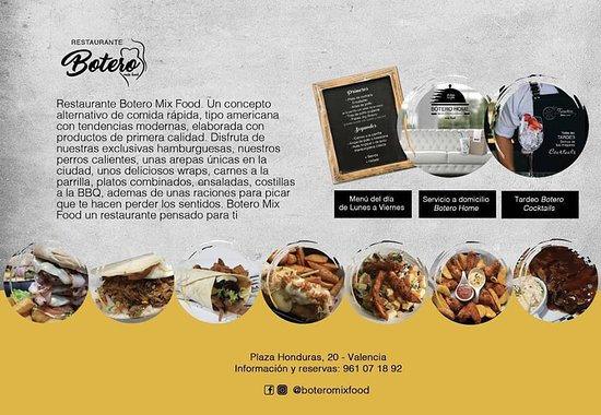 imagen Botero Mix Food en Valencia