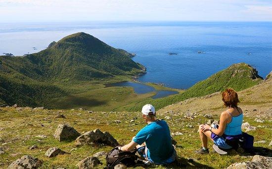 Nyksund, النرويج: Enjoying the view. Photo: Halvard Toften
