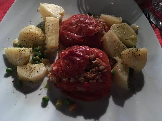 Sivota, กรีซ: Tomates farcies au riz