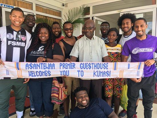Asantewaa Premier Guest House: guests