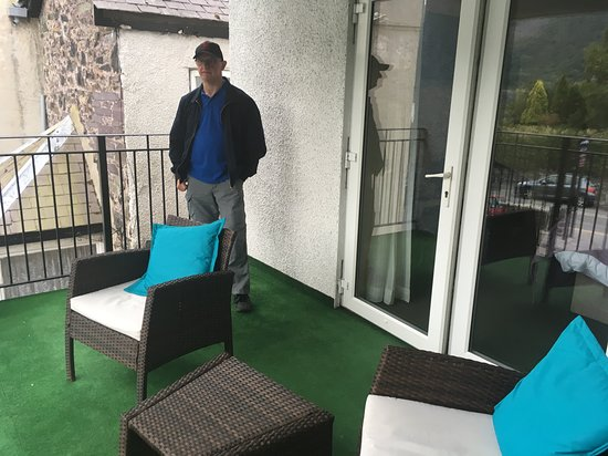 Covered Balcony With Astro Turf