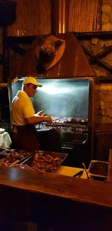 La Tagliata: The grill