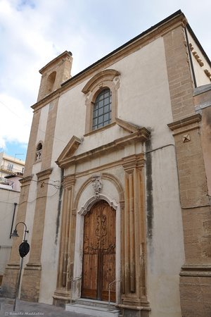 Augusta, Italie : Facciata d'ingresso lato via Garibaldi