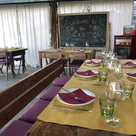 Madonna del Sasso, Italie: Un pranzo speciale nella natura!!