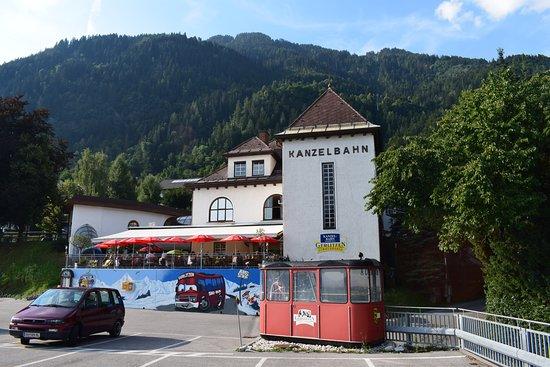 Annenheim, Österreich: Terras voor de Kanzelstub'n