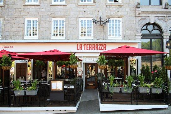 La Terrazza Montreal 436 Place Jacques Cartier Ville