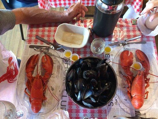 Hubbards, Kanada: Notre repas au Shore Club