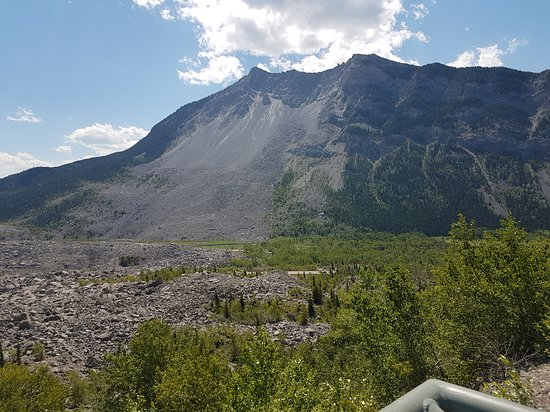 Crowsnest Pass, Canadá: View from the observation platform