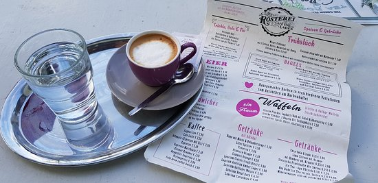 Krumpendorf am Wörther See, Αυστρία: Kaffee uns Karte..🙂👍🏻