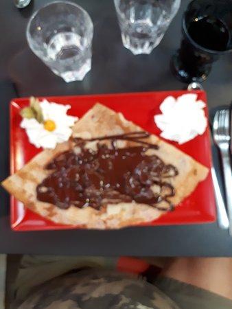Sucre Sable CREPE CHOCOLAT BANANE