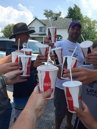 Havelock, Canada: Toonie shakes hit the spot on a hot day!