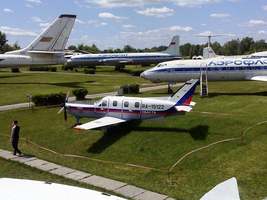 Museum of the Civil Aviation History: самолеты)