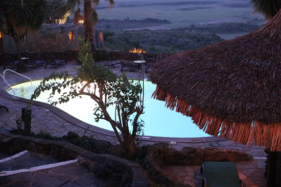 Mara Serena Safari Lodge: Pool
