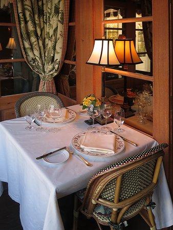 Inn at Little Washington - Diningroom Set for Breakfast