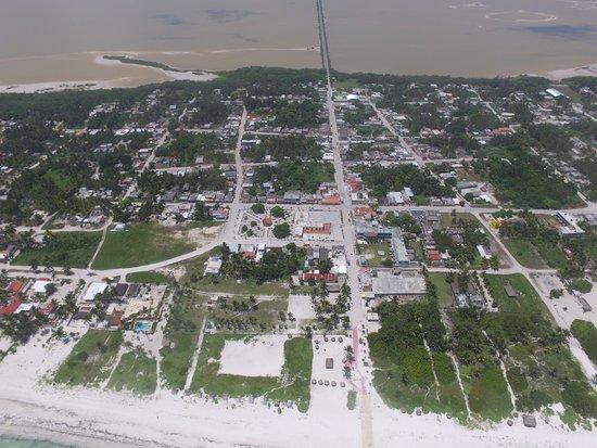 Drone view of El Cuyo