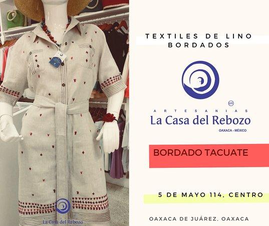 Textiles Bordados De Oaxaca El De La Foto Corresponde A Un